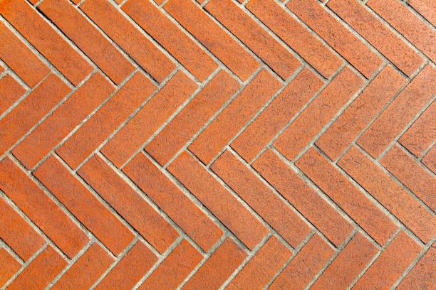 Terracotta Tiles as Background stock photo