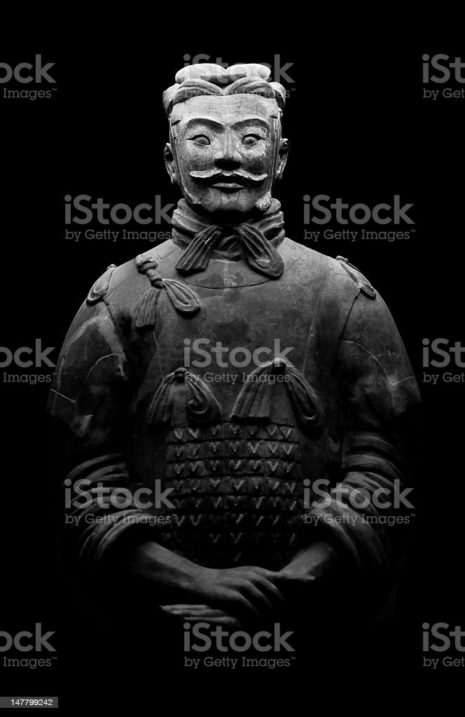 Terracotta Warrior royalty-free stock photo