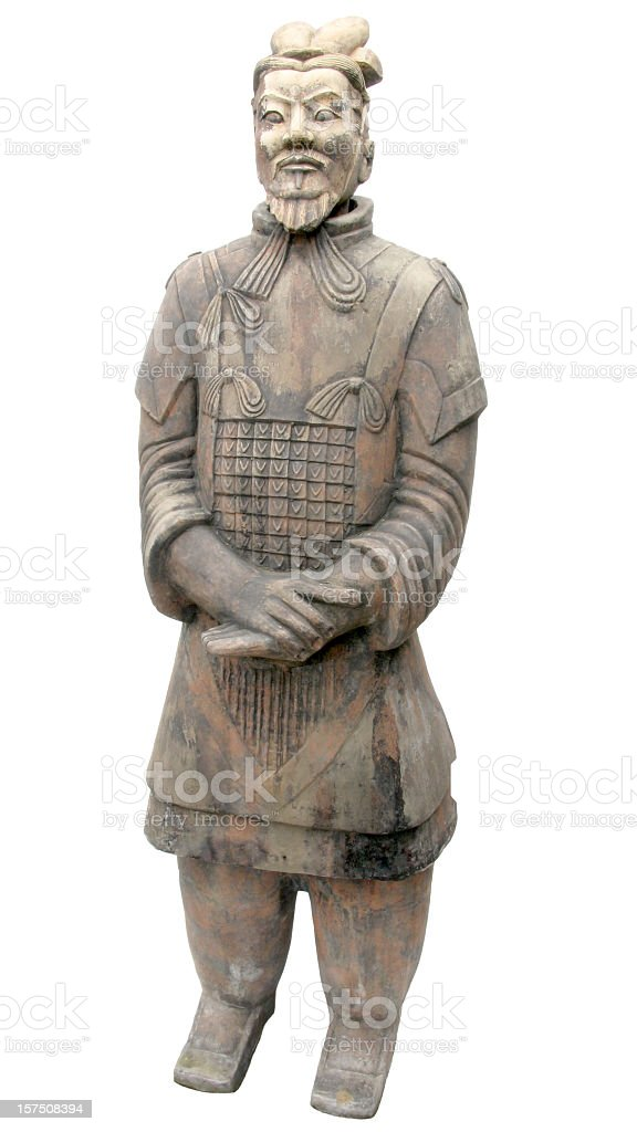 Terracotta Warrior. stock photo