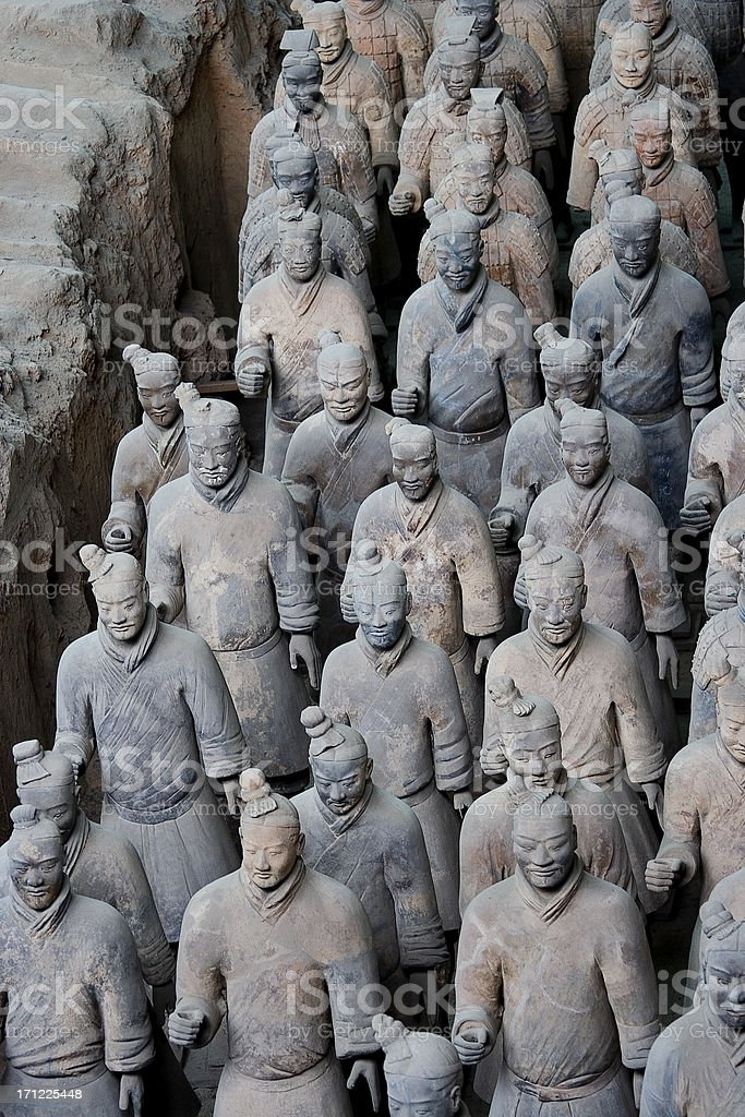 Terracotta Warriors 6 royalty-free stock photo