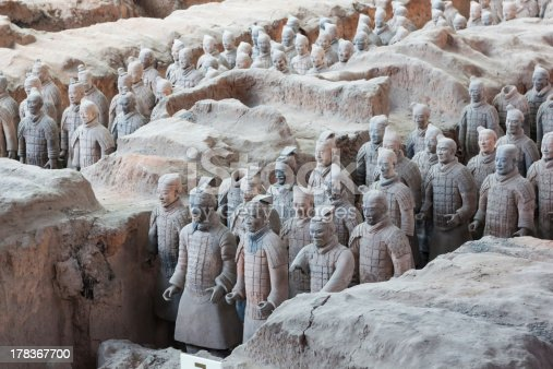 istock Terracotta Warriors in Xian, China 178367700