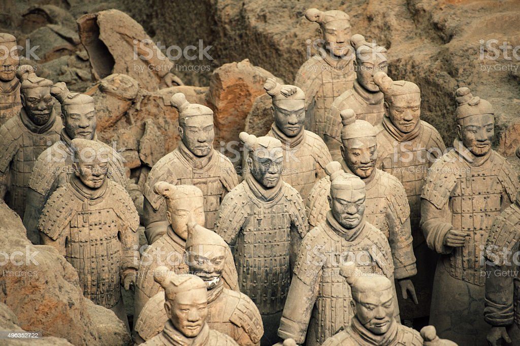 a report on the tomb of the warriors in the early chinese society Some of the terracotta warriors that were buried to guard the tomb of ancient china's first emperor chapterl linksi wthkio depth study 3: the asian world  were covered in early chinese writing source 1  groups and report your findings to the class.