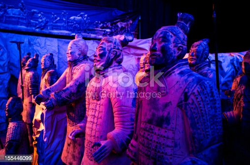 istock Terra-cotta warriors of Xi'an 155446099