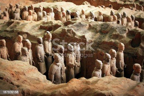 istock Terracotta Warriors 187326158