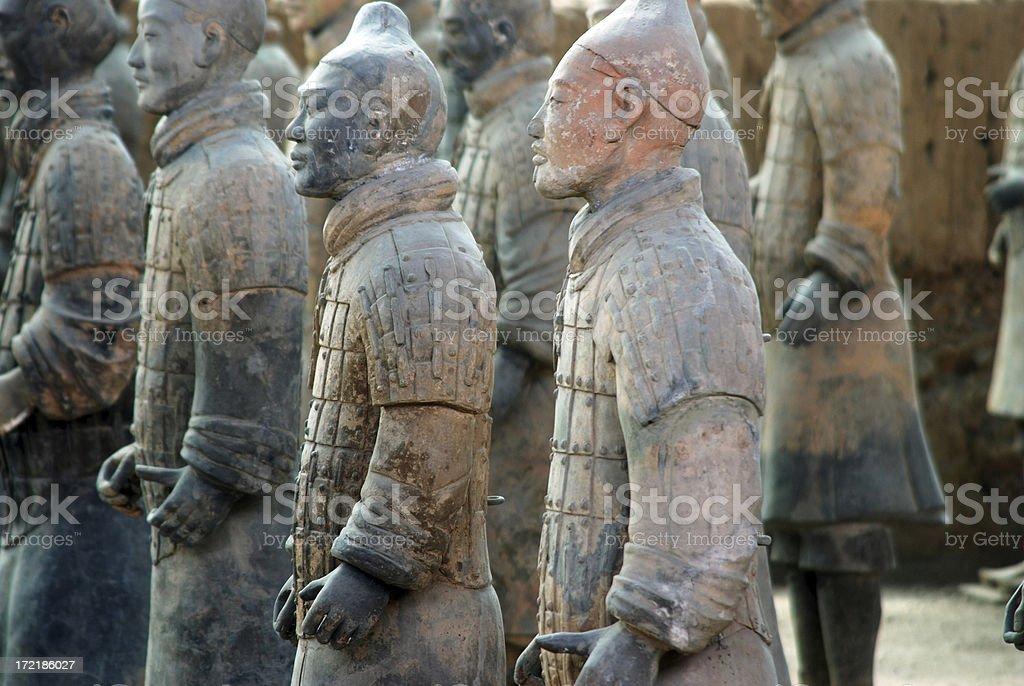 Terracotta Warriors5 royalty-free stock photo