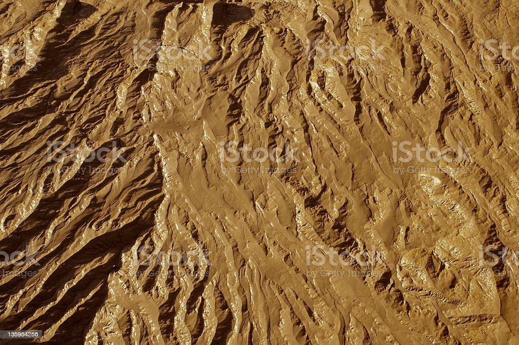 Terrain texture stock photo