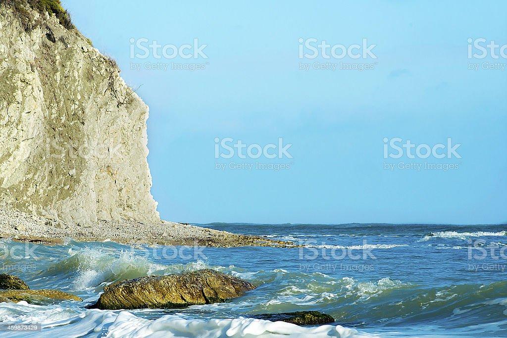 terrain White s in Bulgaria royalty-free stock photo