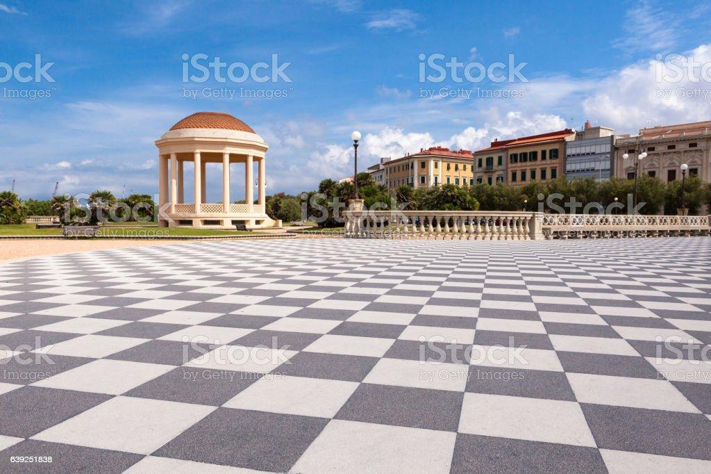 Terrazza Mascagni Livorno Toscana Stock Photo & More Pictures of ...