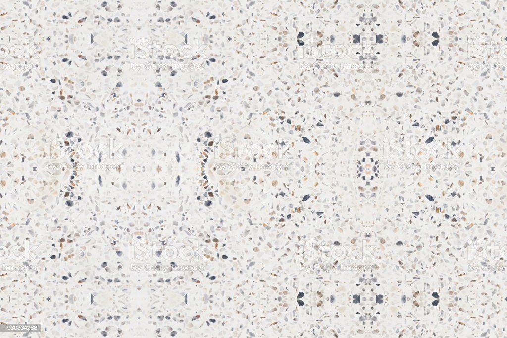 Terrazzo Flooring Old Texture Or Marble Stone Seamless Background With Copy Space Add Text Royalty