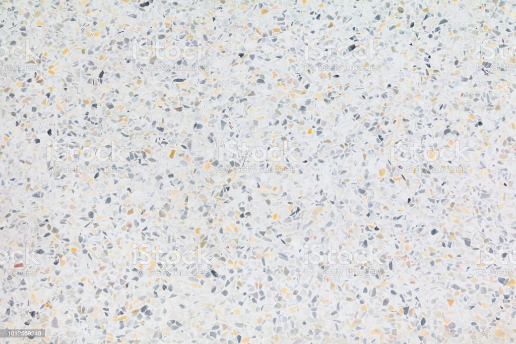 Terrazzo Flooring Texture Polished Stone Pattern Wall And