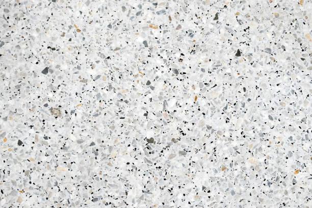 Terrazzo taş zemin ve duvar desen ve renk yüzey mermer ve granit taş, malzeme dekorasyon arka plan doku için cilalı. stok fotoğrafı