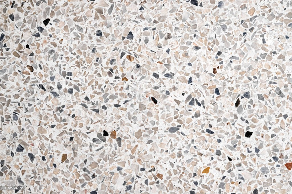 Terrazzo Polished Stone Floor And Wall Pattern And Colour Surface Marble And Granite Stone Material For Decoration Background Texture Stock Photo Download Image Now Istock