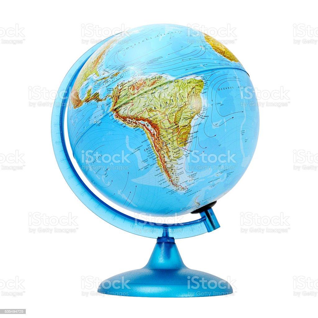 terrestrial global stock photo