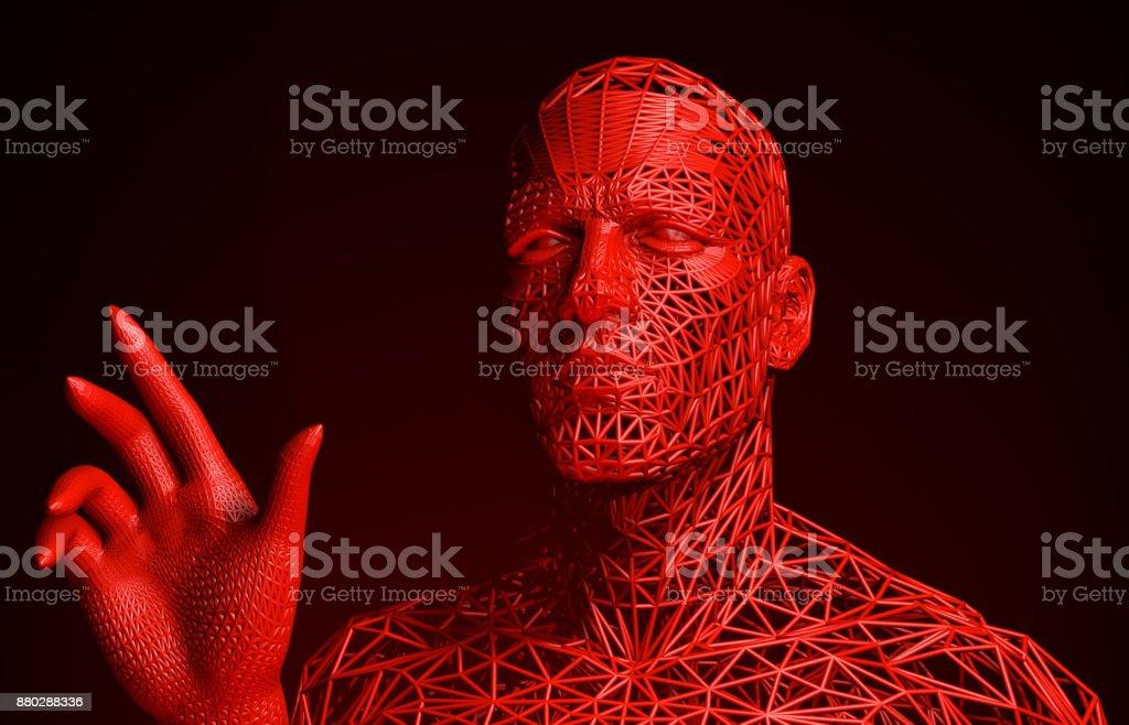 Schreckliche interaktive Cyborg – Foto