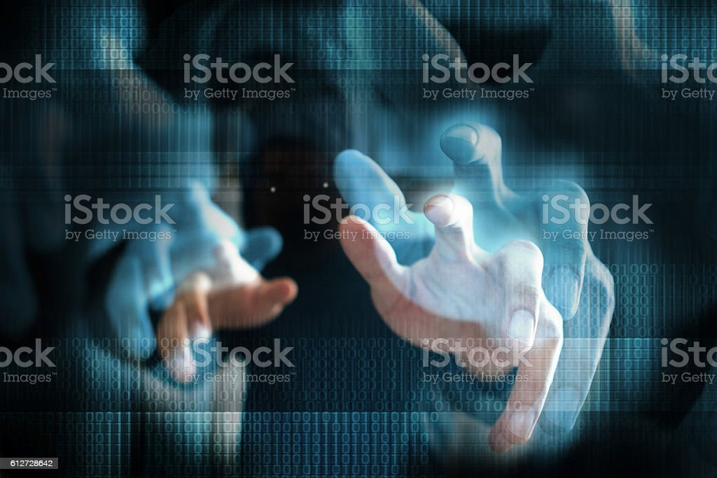 terrorism, hacker stock photo