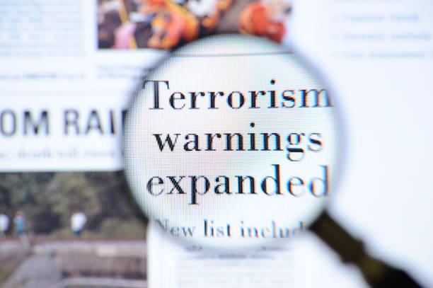 Terrorism warnings headlines http://www.gunaymutlu.com/iStock/news_headlines-360.jpg terrorism stock pictures, royalty-free photos & images