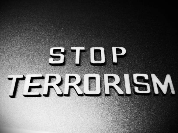 terrorismus wort zitat überschrift titel - kämpfer zitate stock-fotos und bilder