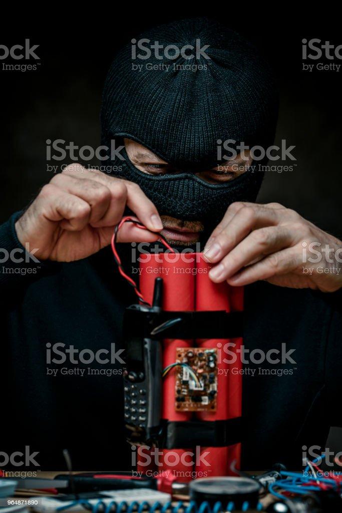 Terrorist royalty-free stock photo