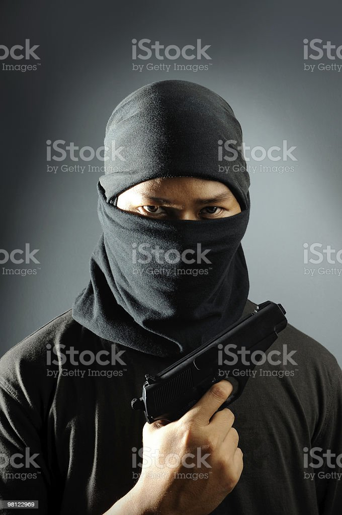 Terroristi foto stock royalty-free
