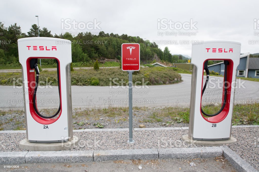 Tesla charging stations are located throughout EU to accommodate...