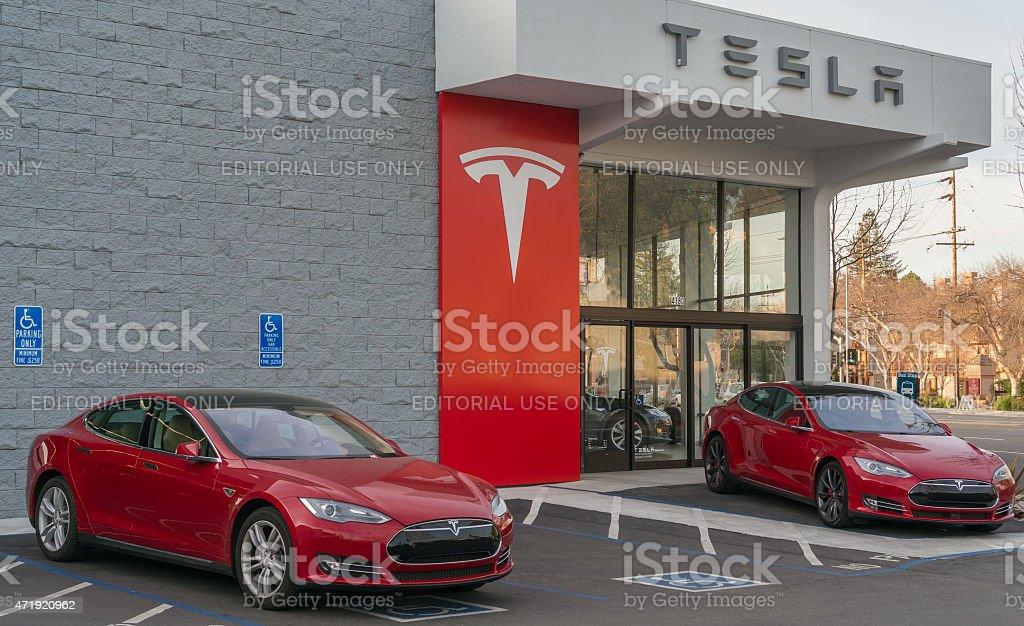Modello di Tesla foto stock royalty-free