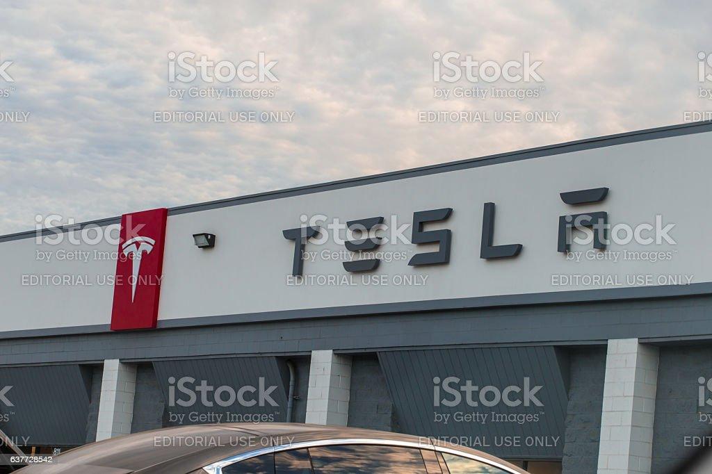 Tesla Model S stock photo