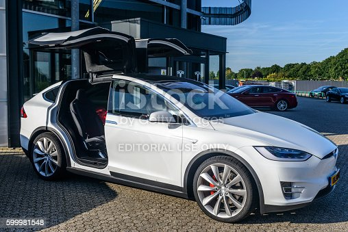 istock Tesla Model X P90D all-electric crossover SUV 599981548