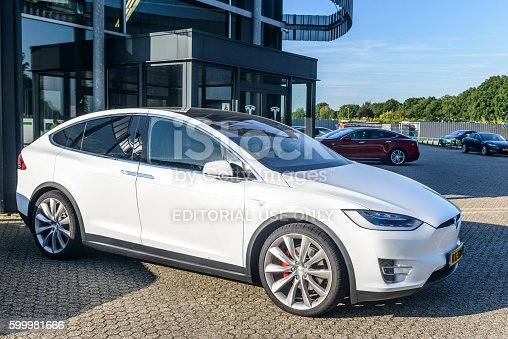 istock Tesla Model X P90D all-electric crossover SUV 599981666