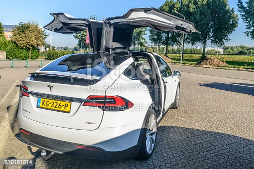 istock Tesla Model X P90D all-electric crossover SUV 610161014