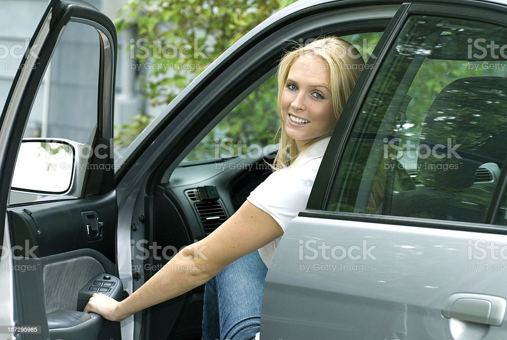Test Drive royalty-free stock photo