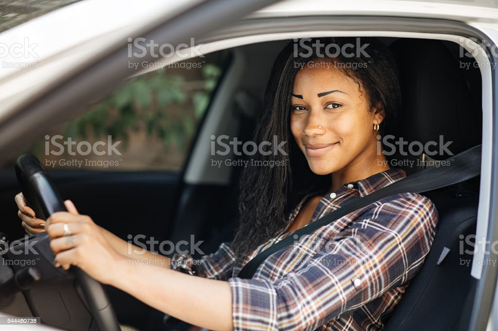 Test drive stock photo