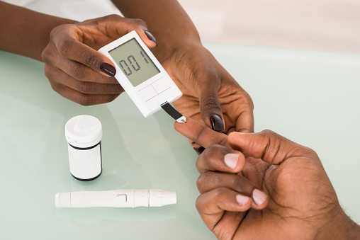 Test For Diabetes Stock Photo - Download Image Now