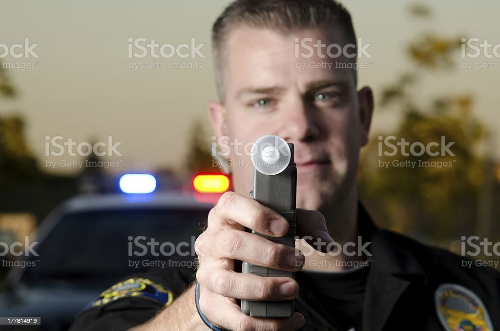 DUI test royalty-free stock photo