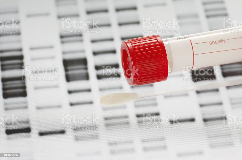 DNA Test stock photo