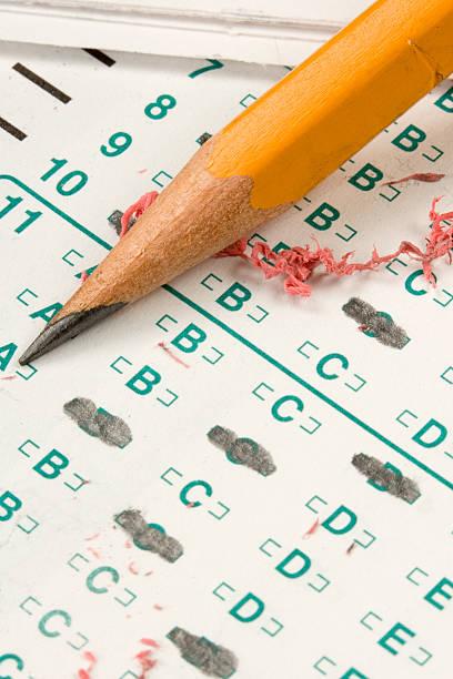 test test - multiple intelligenz umfrage stock-fotos und bilder
