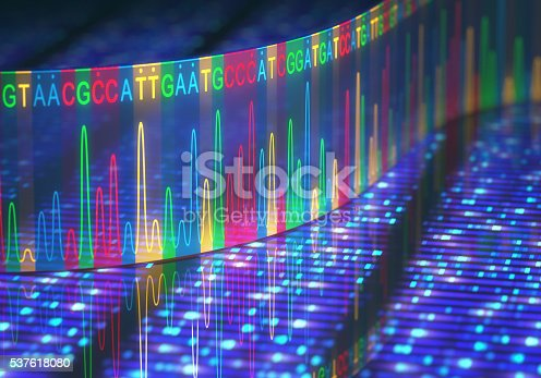 istock DNA Test Sanger Sequencing 537618080