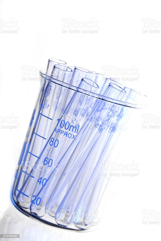 Test Tube Abstract royalty-free stock photo