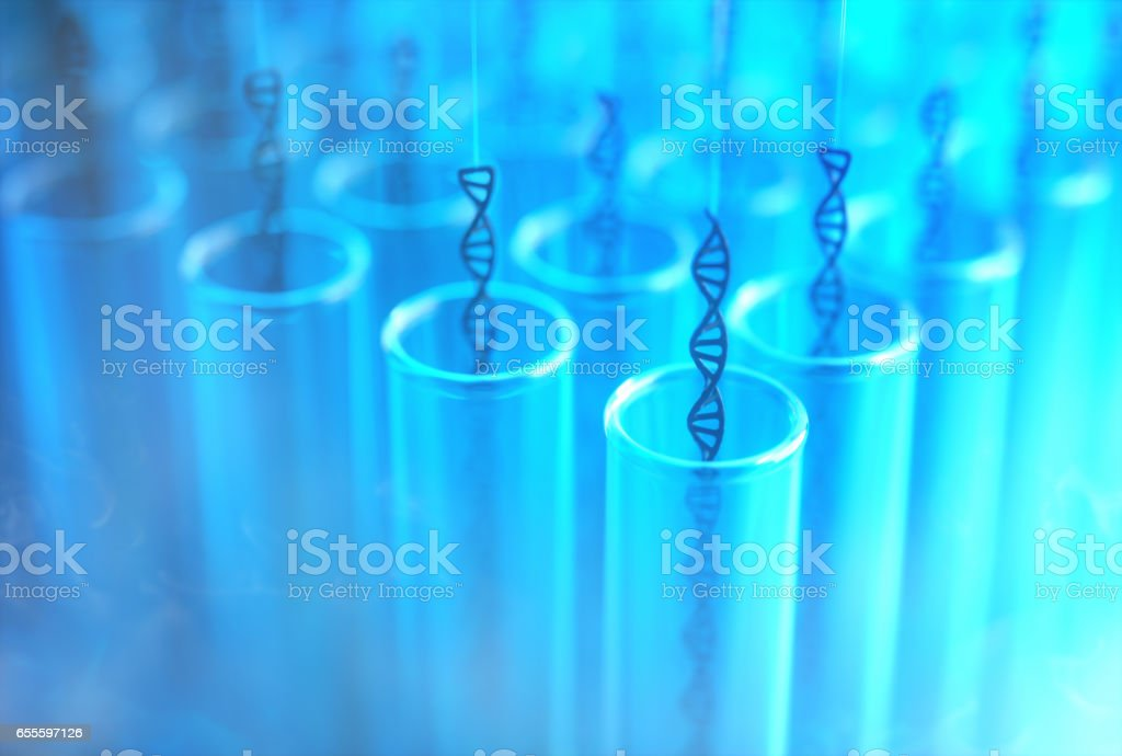 Test Tube DNA Cloning stock photo