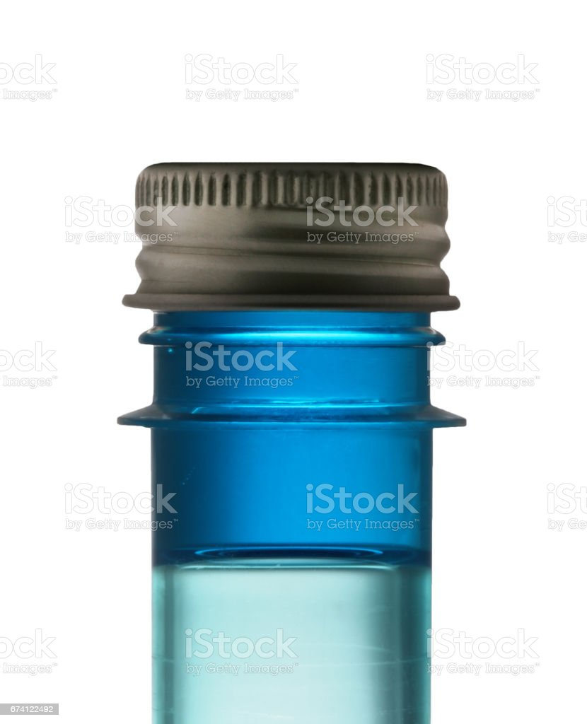 Test tube on a white background royalty-free stock photo