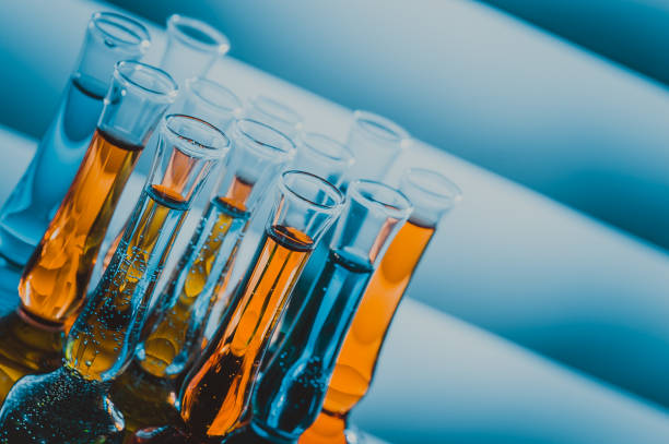 test tube - chemical stock photos and pictures