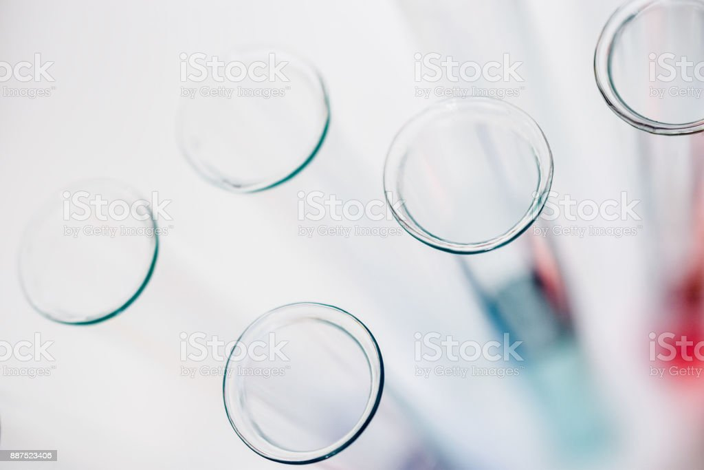 test tubes in laboratory. drug discovery, pharmacology and...