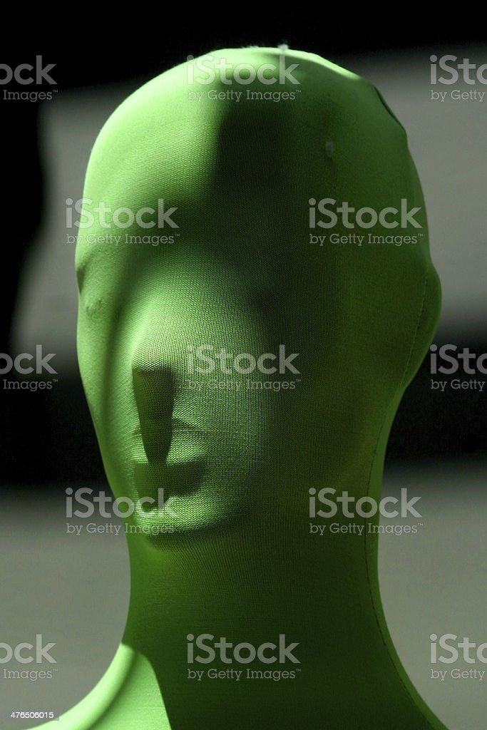 testa verde royalty-free stock photo