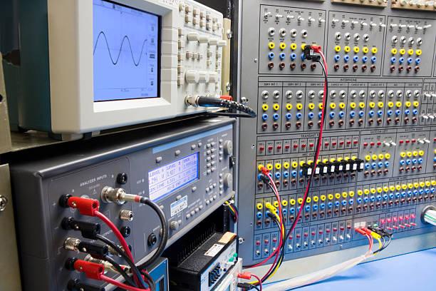 Testing in einem elektronischen Lab – Foto