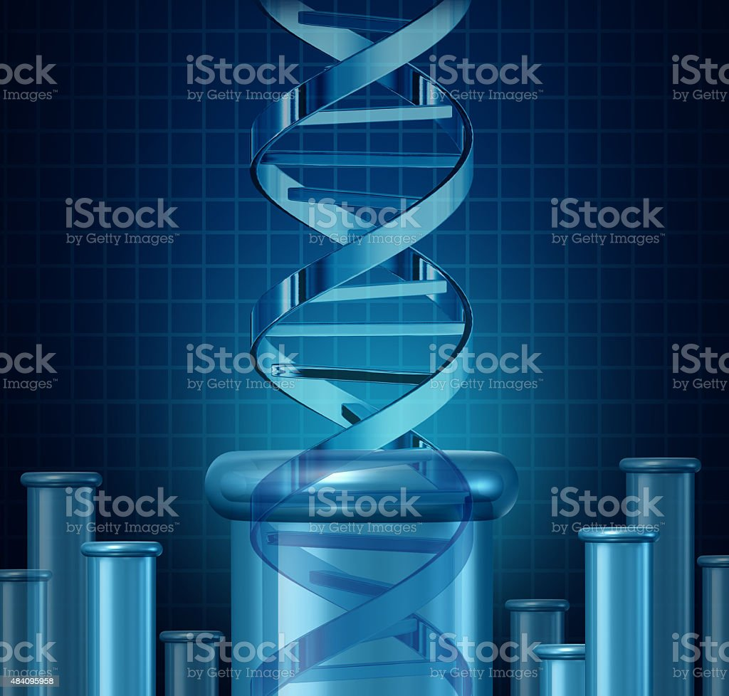 DNA Testing stock photo