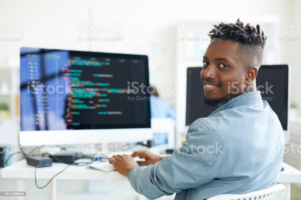 Testen von software - Lizenzfrei Afro-amerikanischer Herkunft Stock-Foto