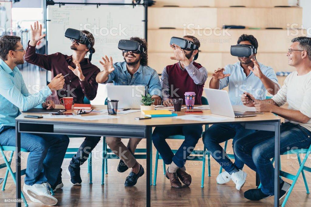 Tester les nouveaux casques VR - Photo