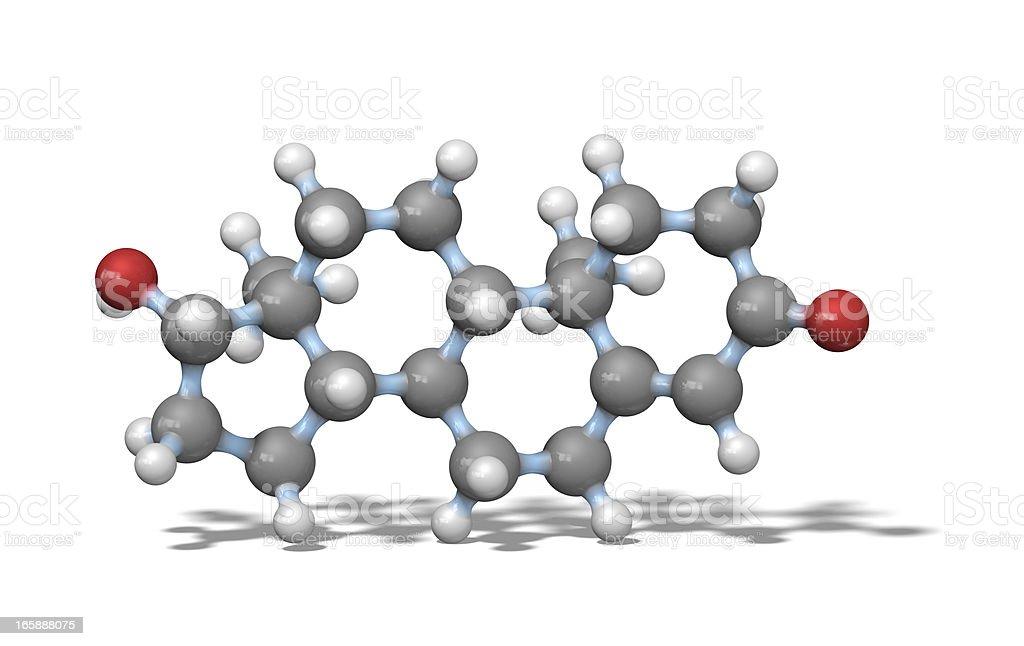 Testosterone stock photo