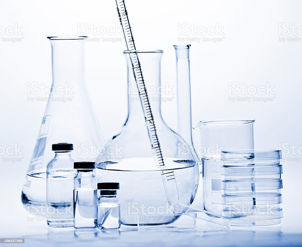Test-tubes royalty-free stock photo