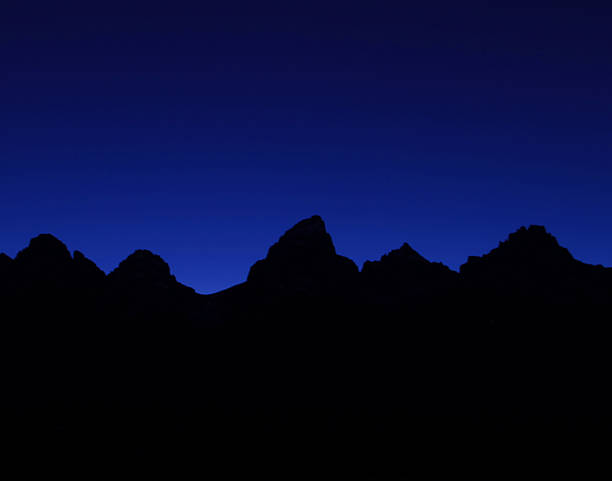 Teton Alpenglow II stock photo