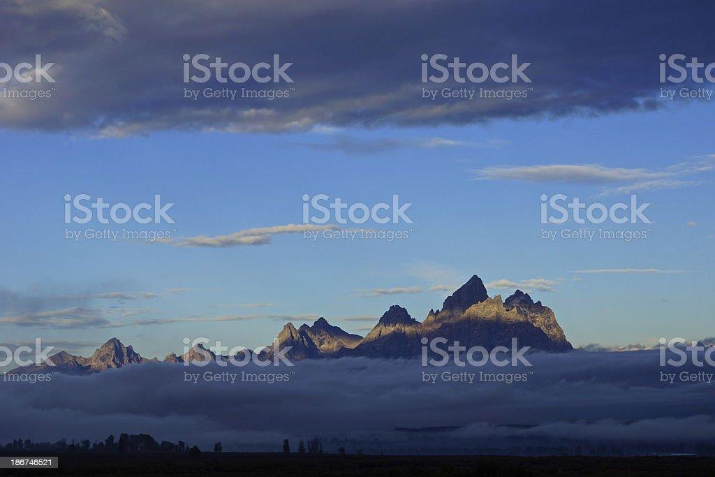 Teton Light stock photo